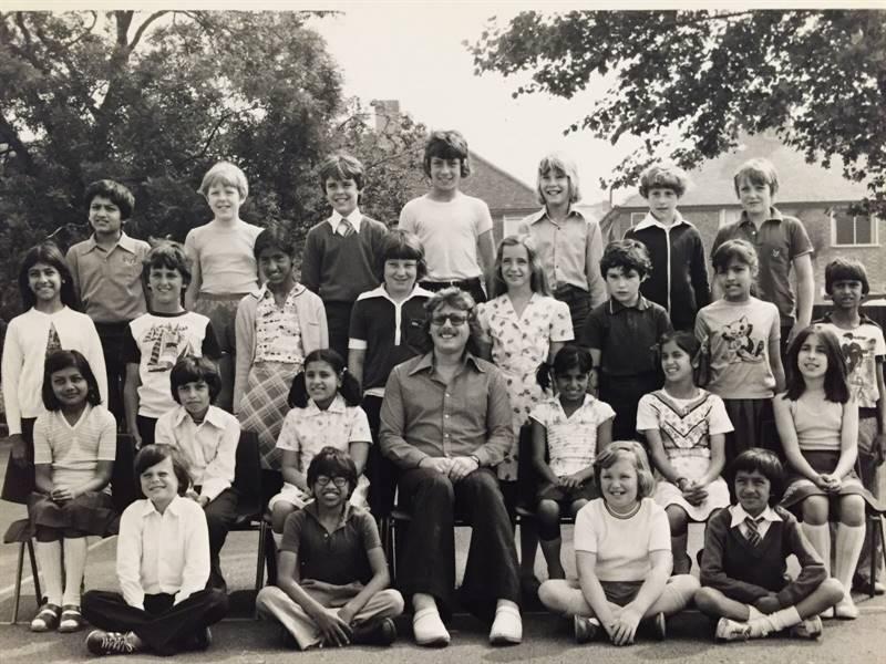 Orchard , Mr Wiggins Class 1976